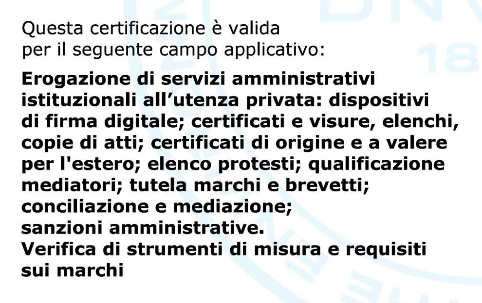 ISO_9001_ Campo di applicazione