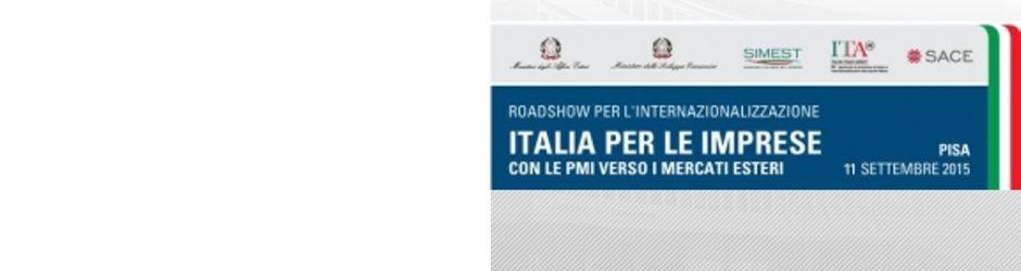 Roadshow per l'internazionalizzazione